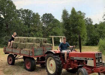 Even voorstellen: boerderijmeesters Ilona en Leon